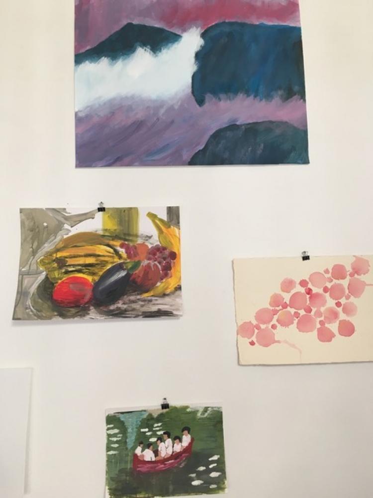 Cours de peinture - Paris 18e