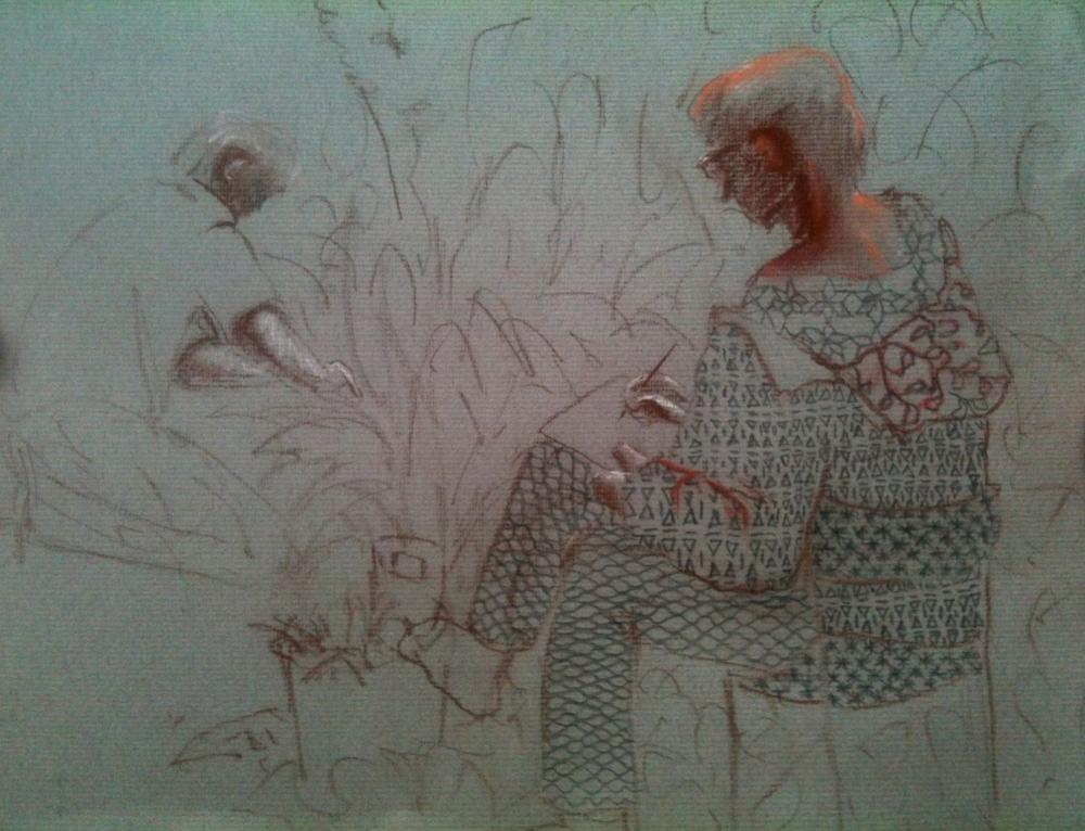 Cours de dessin et peinture au jardin des plantes (4 mois)