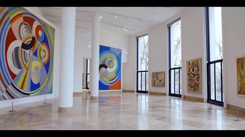 Atelier dessin avec vos petits-enfants au musée d'art moderne de la ville de Paris