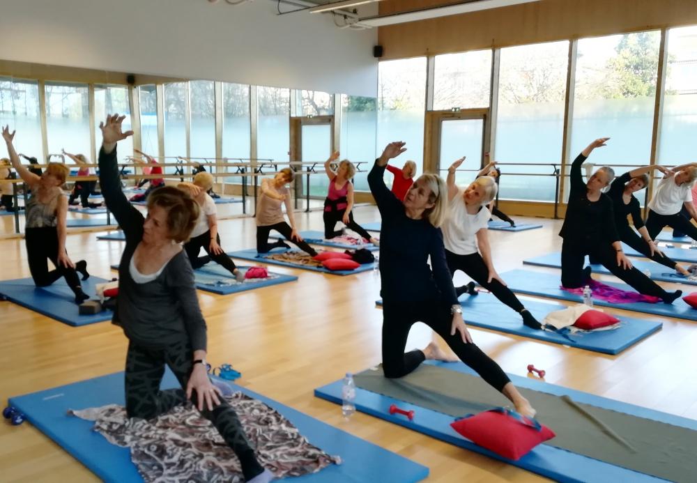 10 cours de gym douce/stretching - Paris 6e