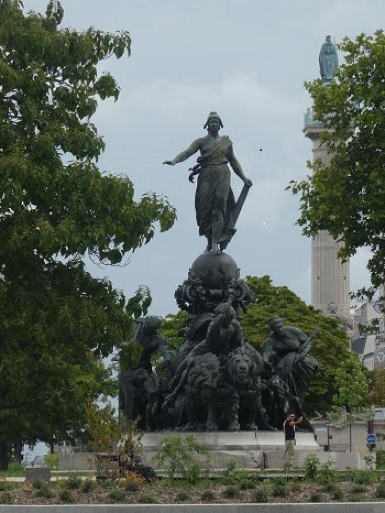 """Un Rallye Pédestre \""""De la Nation au square Gardette\"""" - Paris"""