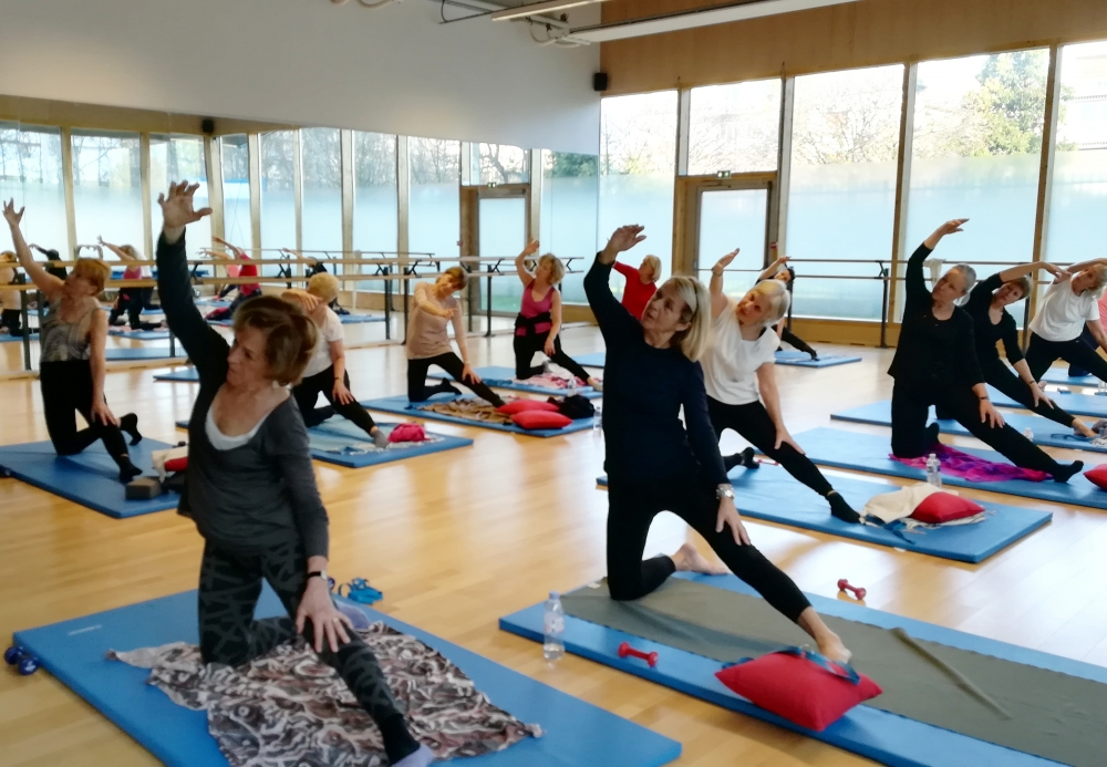 Cours d'essai de gym douce, ou stretching ou pilates - Paris 16e