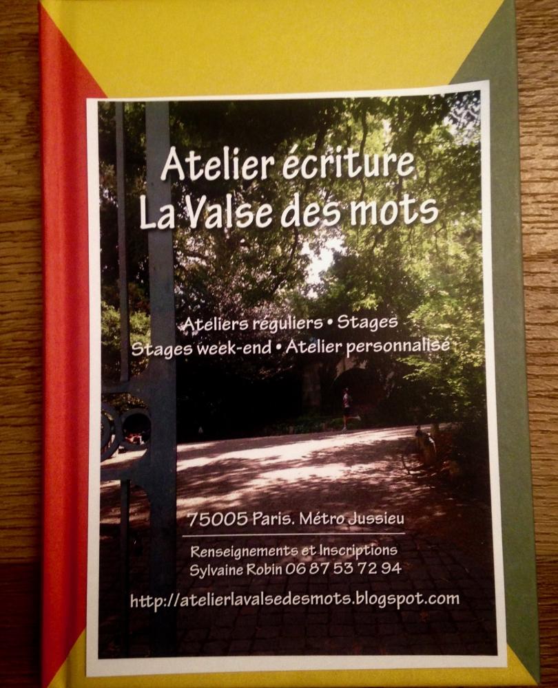 Stage d'écriture de 5 jours - Paris 5e