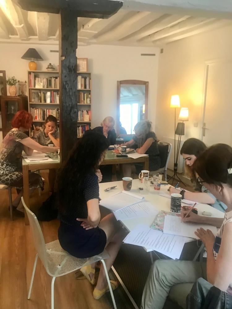 Un atelier mensuel d'écriture -  Paris 5e