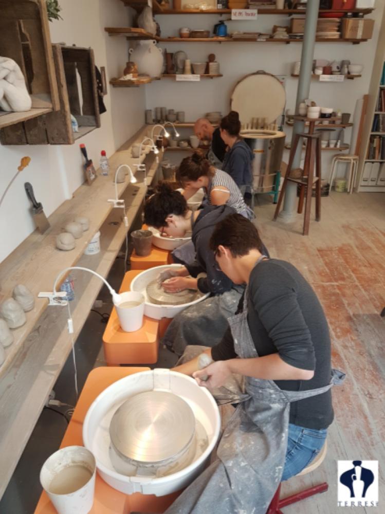 10 cours de céramique - Paris 15e