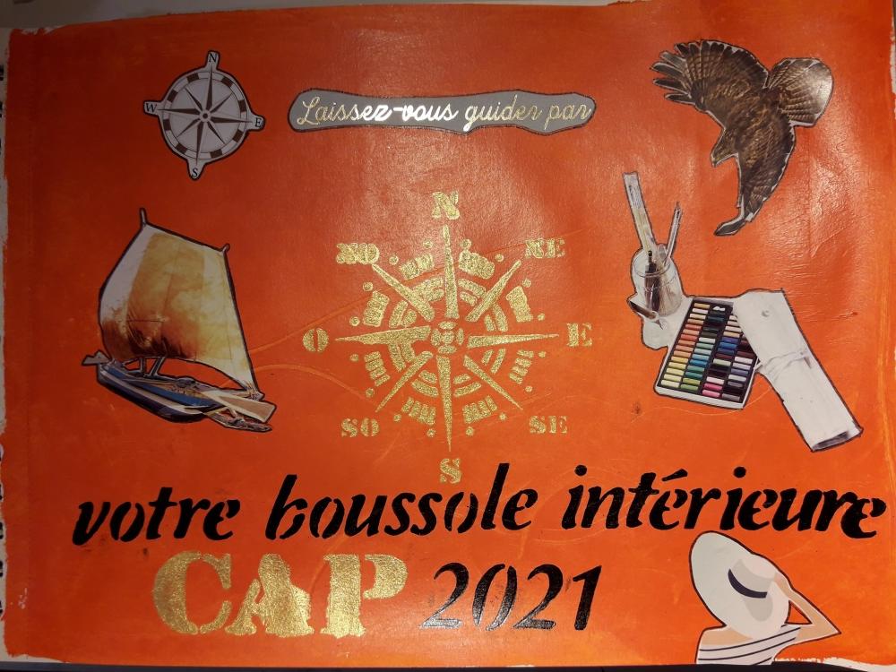 """Atelier de Journal Créatif \""""Bilan 2020 - Vision 2021\"""""""