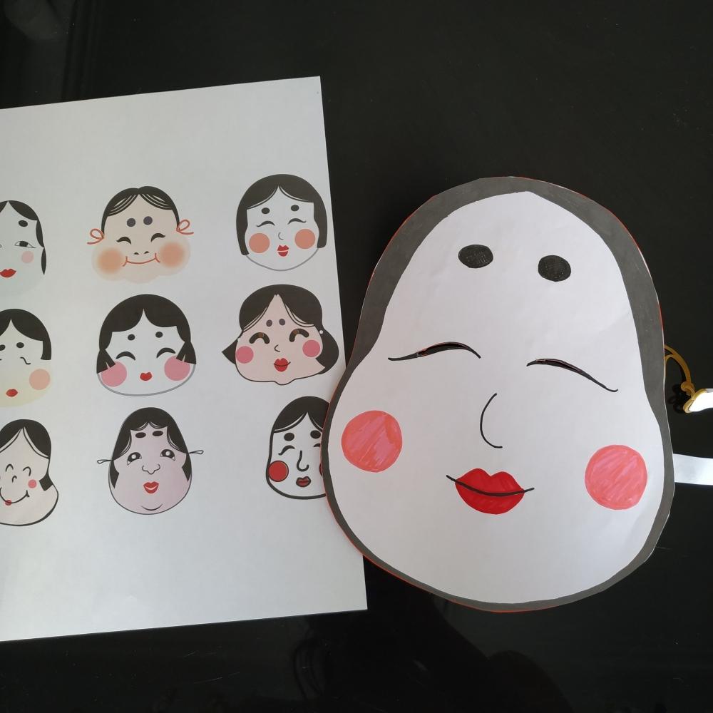 Omen, réalisation de masques japonais - Paris 9e