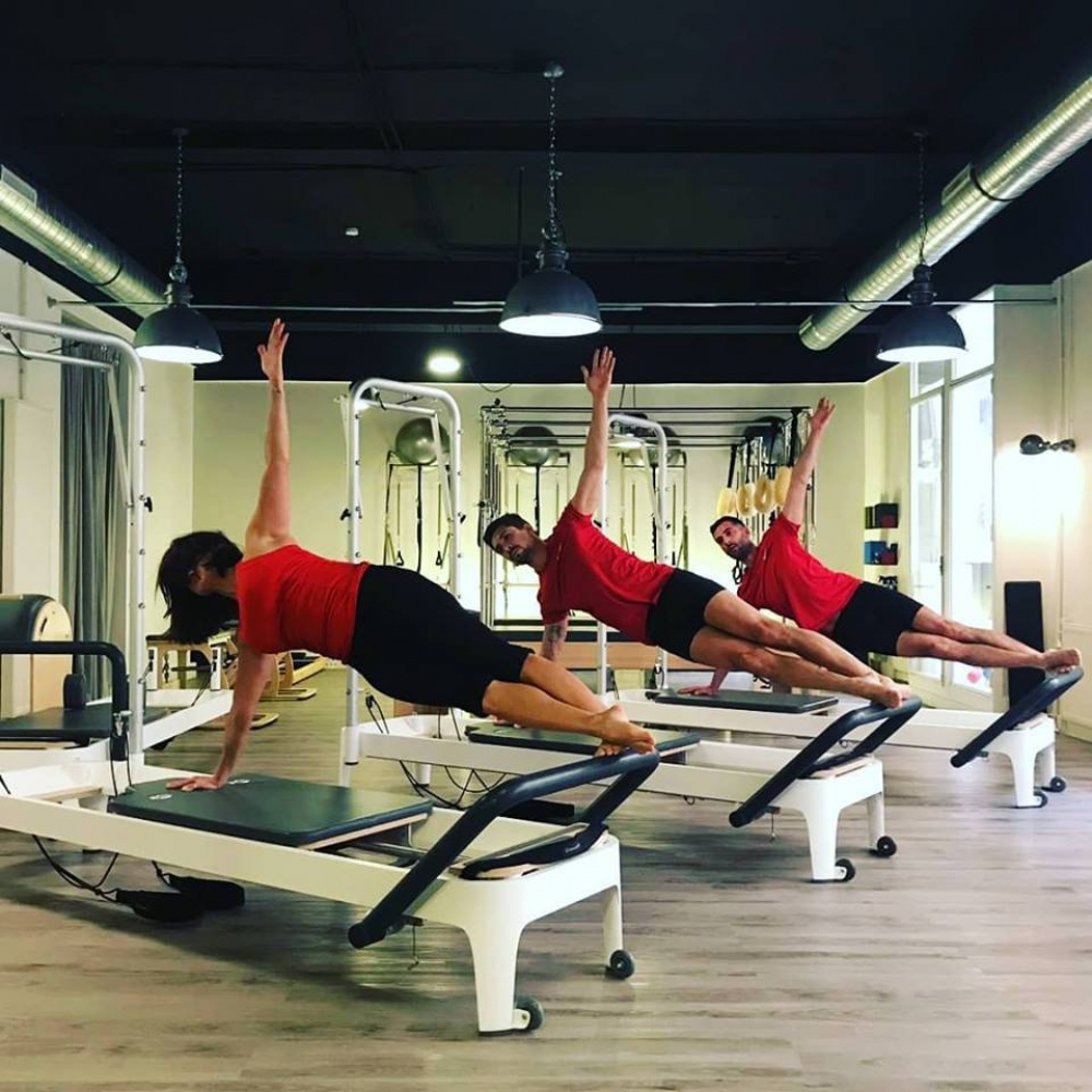 Pilates/machines — COSMA (séance collective) — 55 minutes — 6-8 pers. (actuellement indisponible à la réservation)