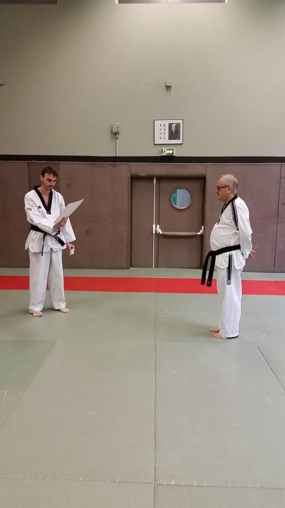 Cours de Taekwondo Séniors - Paris 14e