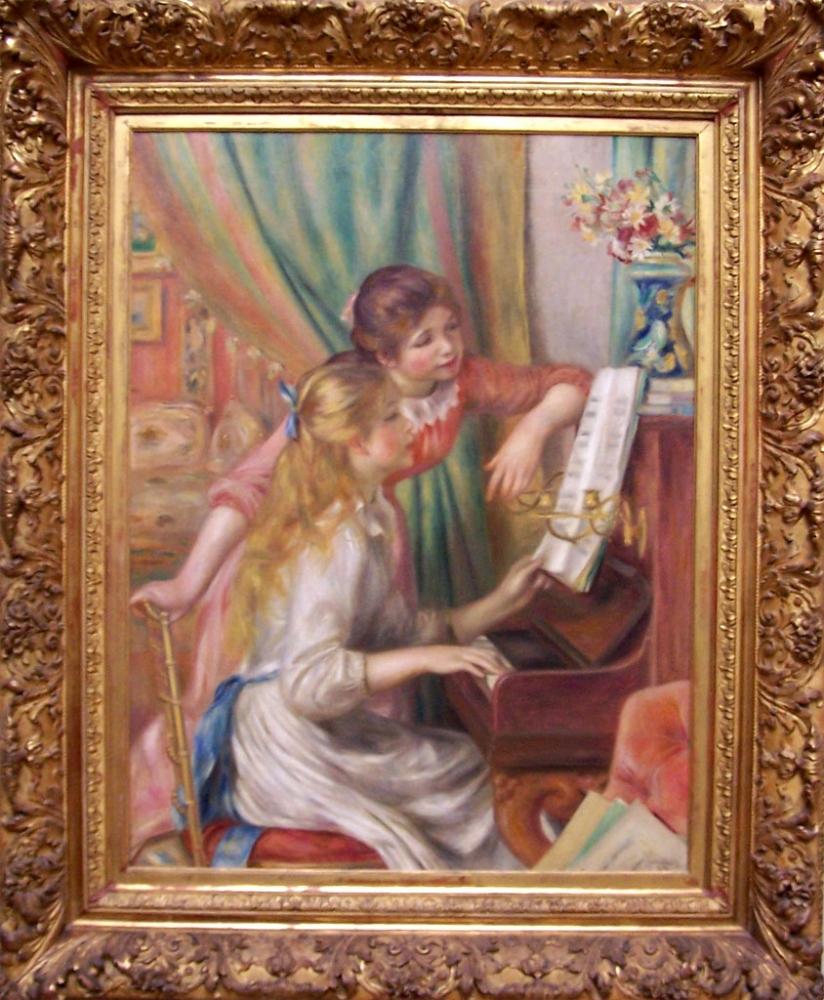 """Visioconférences \""""Un siècle de peinture moderne\"""" - Auguste Renoir - En Ligne"""