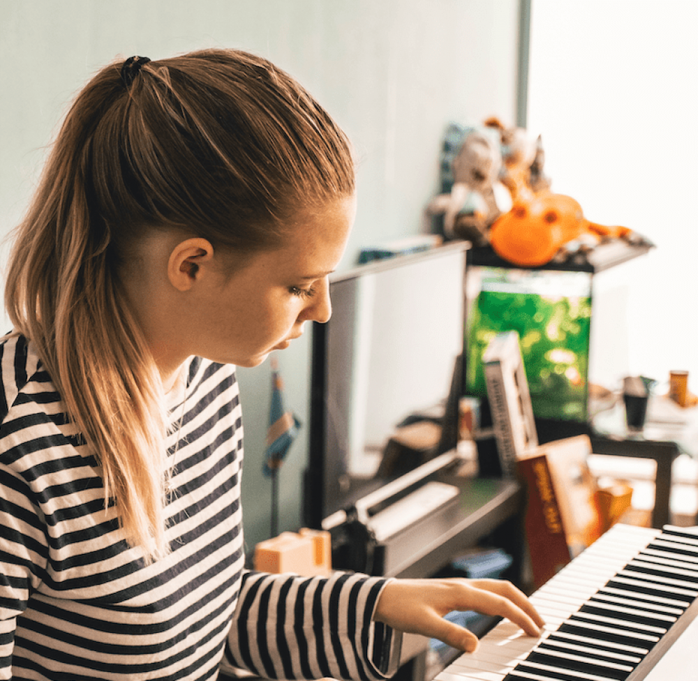 """Cours de Piano collectif \""""Jouez la musique que vous aimez\"""" - En Ligne"""