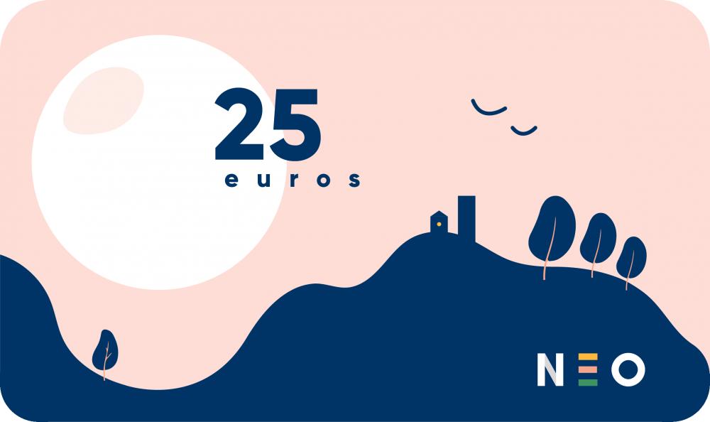 Carte cadeau de 25 euros