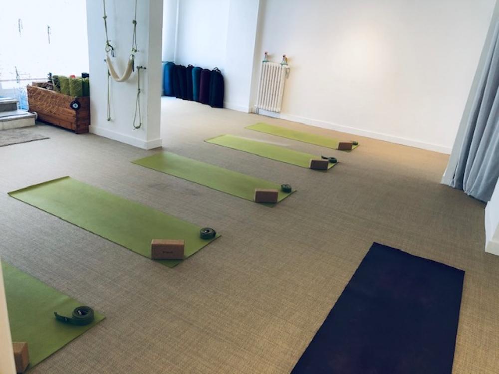 Yoga doux, yoga du souffle et de l'alignement - Nice