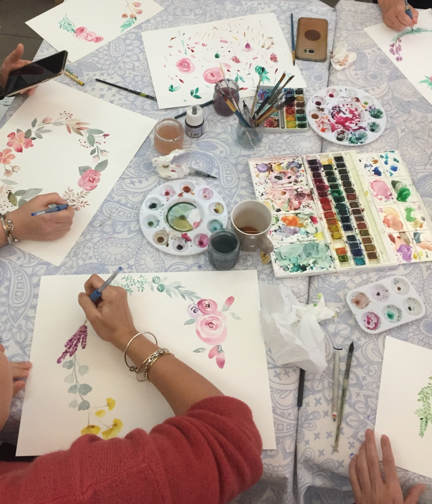 Atelier Aquarelle - Nice