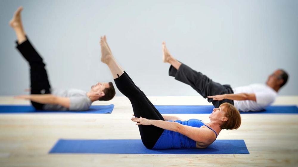 Cours collectifs de Pilates - en ligne