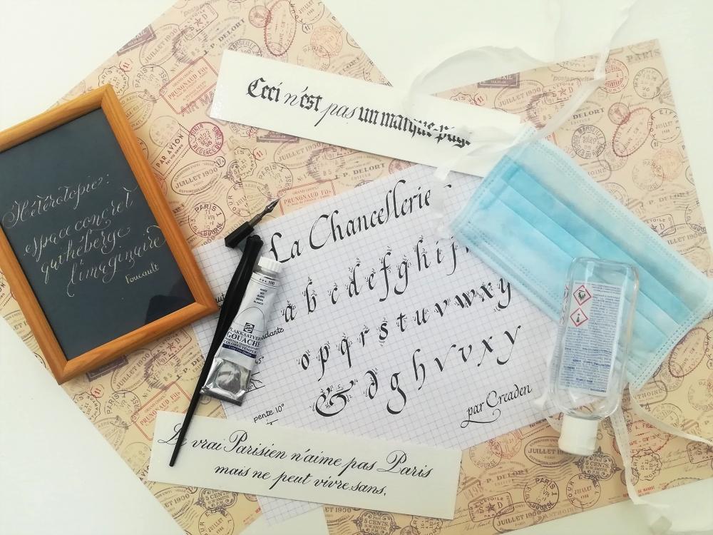 Découverte de la calligraphie latine - Paris 18e