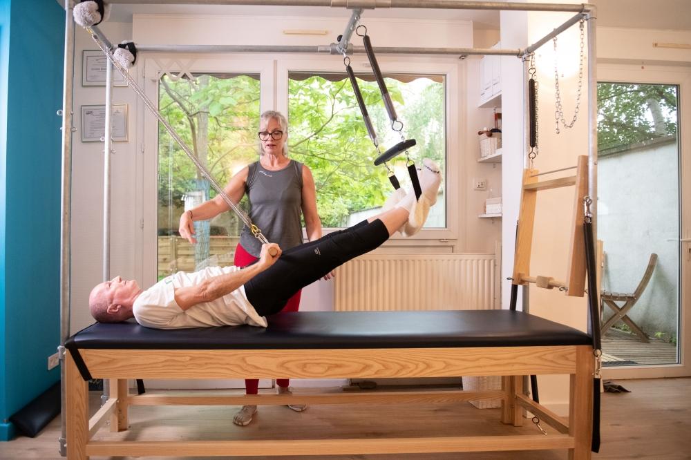 Cours de Pilates sur appareils à Versailles