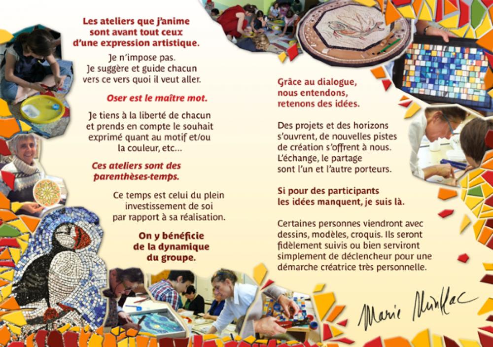 Atelier de Création Mosaïque en 2h - Paris 15