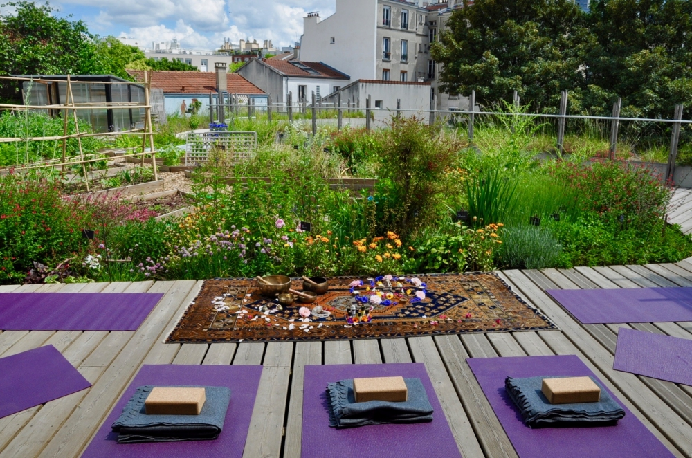 Yin yoga au jardin - Paris 20
