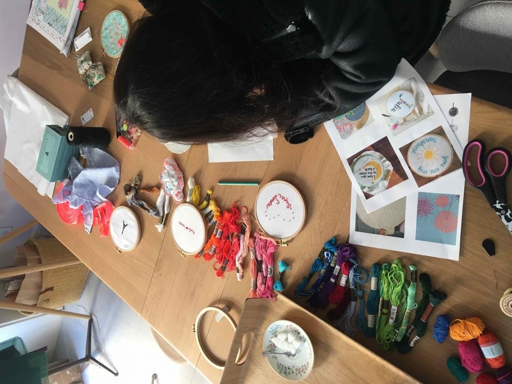 Atelier découverte de broderie - Paris 11e