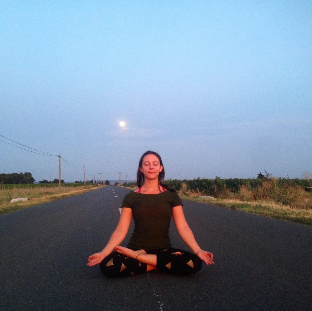 Vinyasa yoga et méditation avec Amanda - Paris 14ème