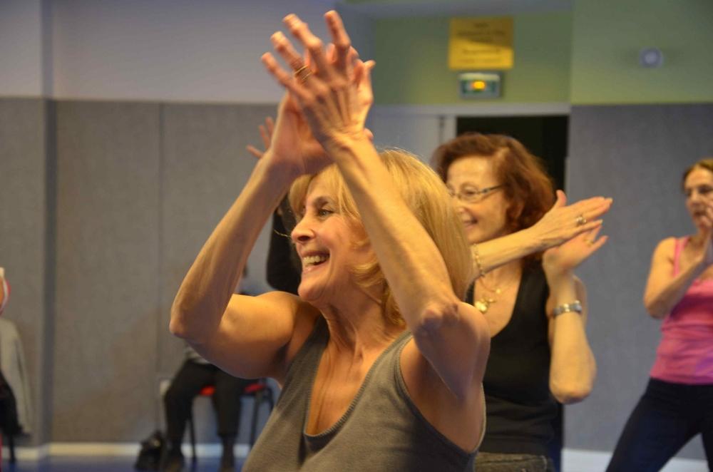 Un cours collectif de Métis'danse - Paris 5e