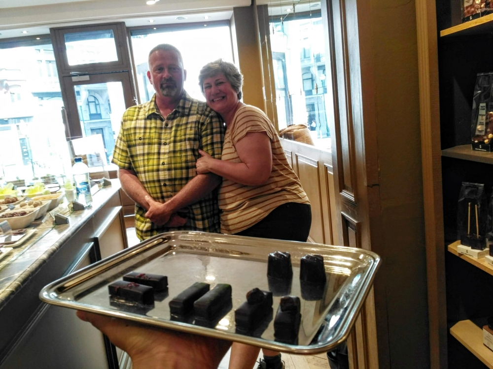 Déguster des chocolats d'exception avec une experte en chocolat à Bruxelles !