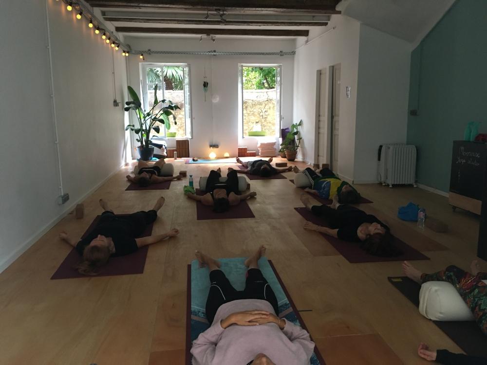 Yoga doux à Marseille
