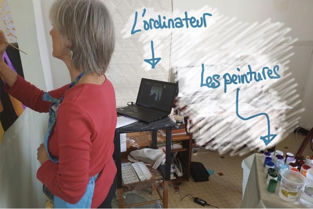 S'exprimer grâce à la peinture intuitive : 3 ateliers à distance