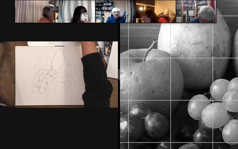 Dessinons ensemble : paysage, portrait, abstraction...