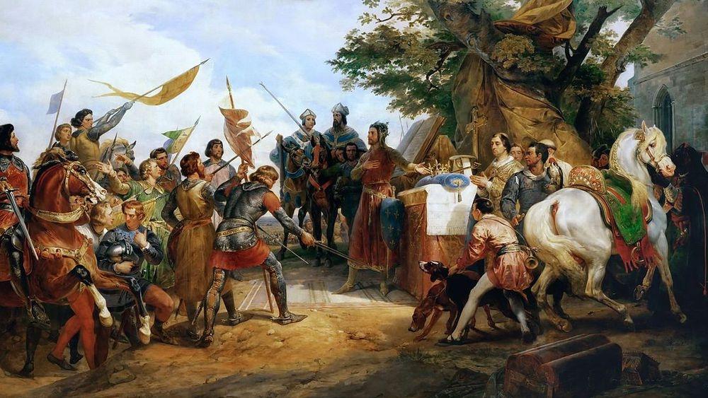 La bataille de Bouvines entre histoire et mémoire de 1214 à nos jours - En ligne