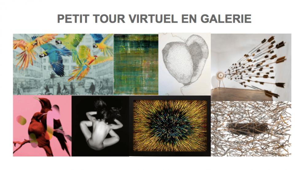 Petit tour virtuel en galerie