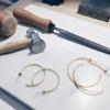 Confectionnez vos propres créoles en plaquées or à Toulouse
