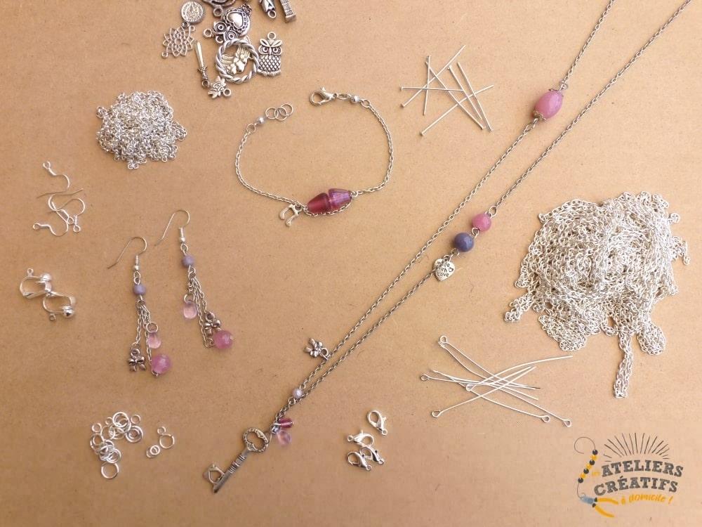 Créez Vos Propres Bijoux Fantaisie à Strasbourg - Cours pour 3 personnes