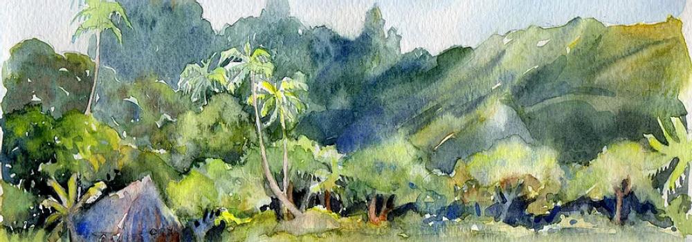 Cours d'aquarelle à distance