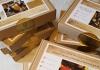 Kit archéo-créatif double : fabriquer 2 bourses en cuir de A à Z