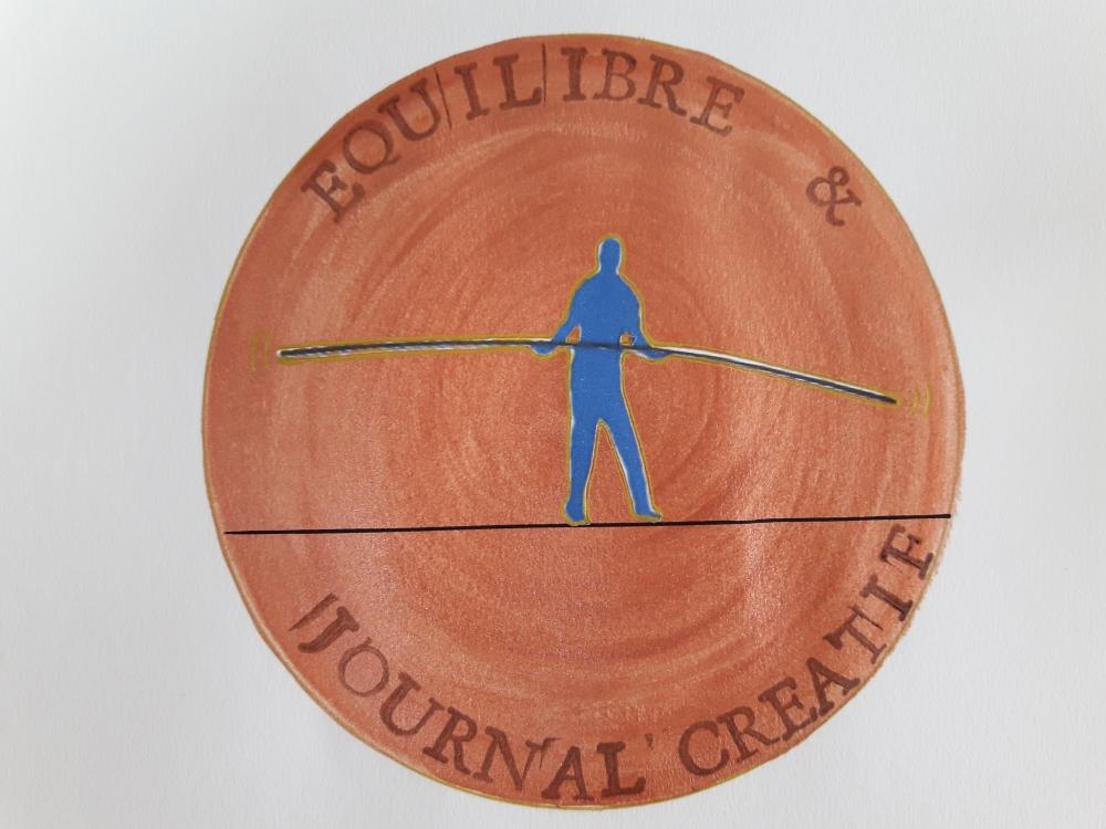 Veiller à Son Equilibre Avec Le Journal Créatif