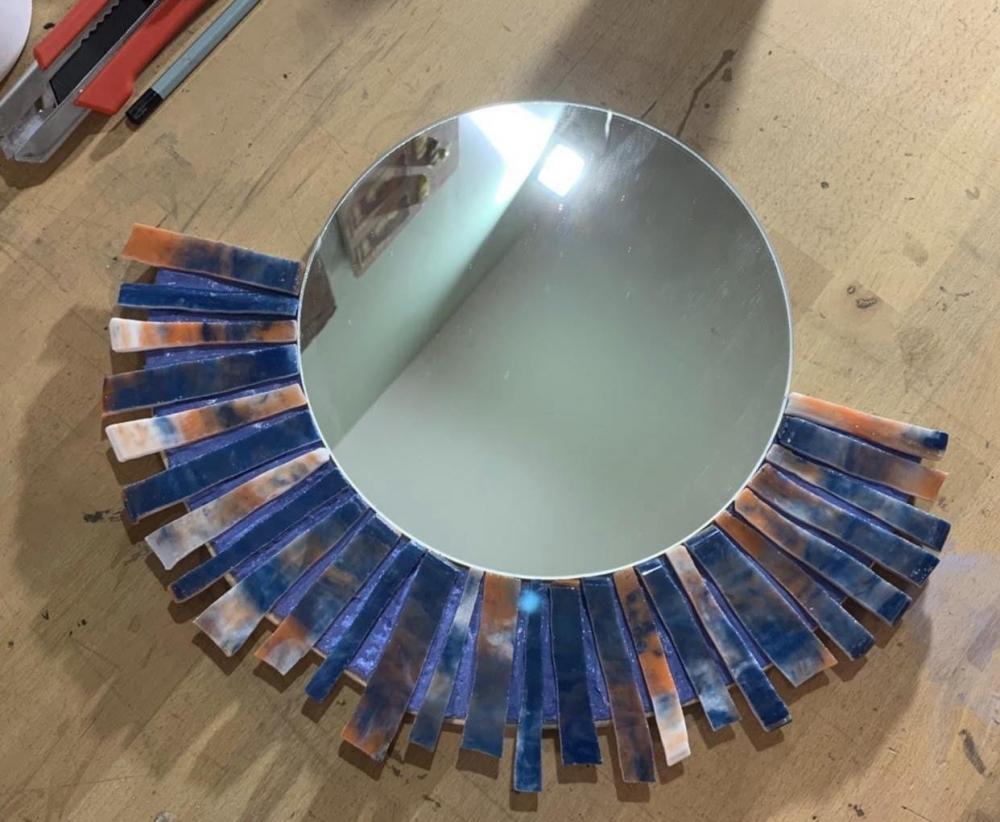 Créez un magnifique miroir en mosaïque