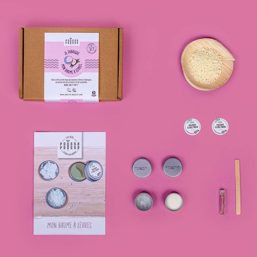 Kit DIY Je fabrique mon baume à lèvres