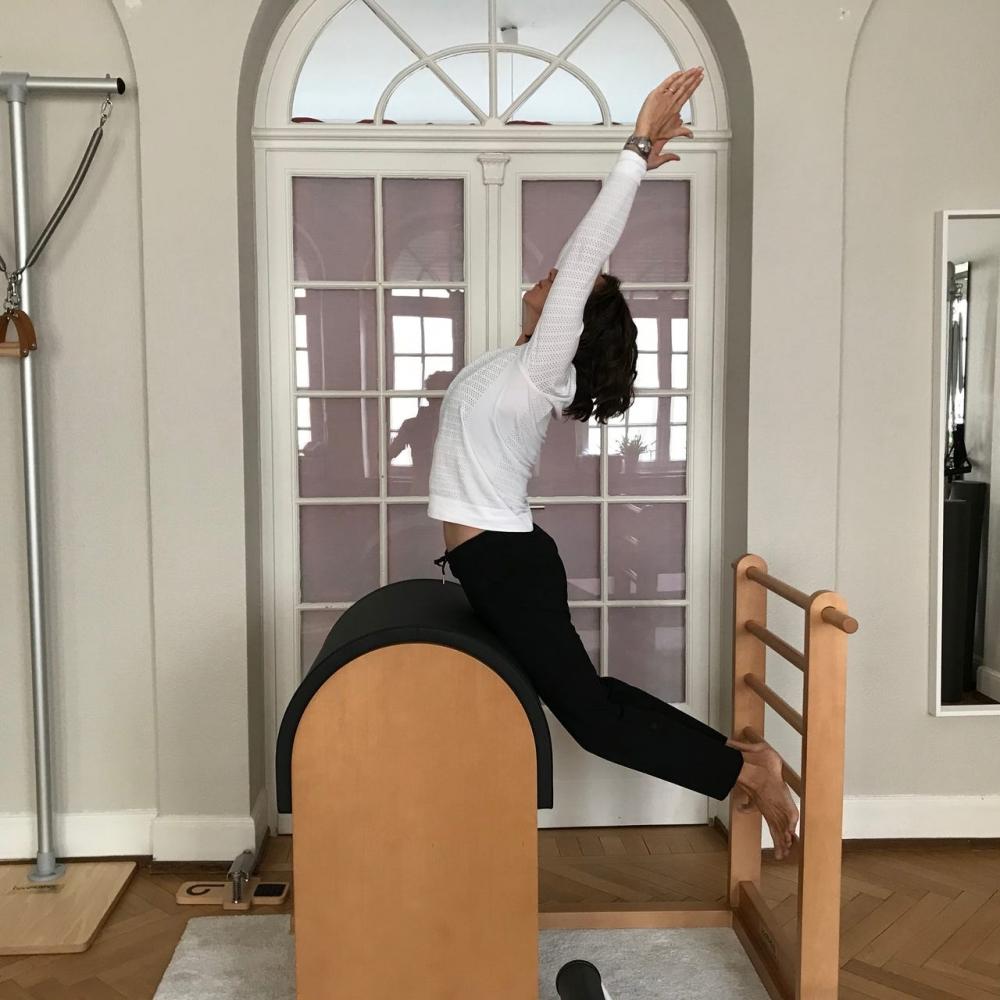 Séance de Pilates en Duo Avec Appareils