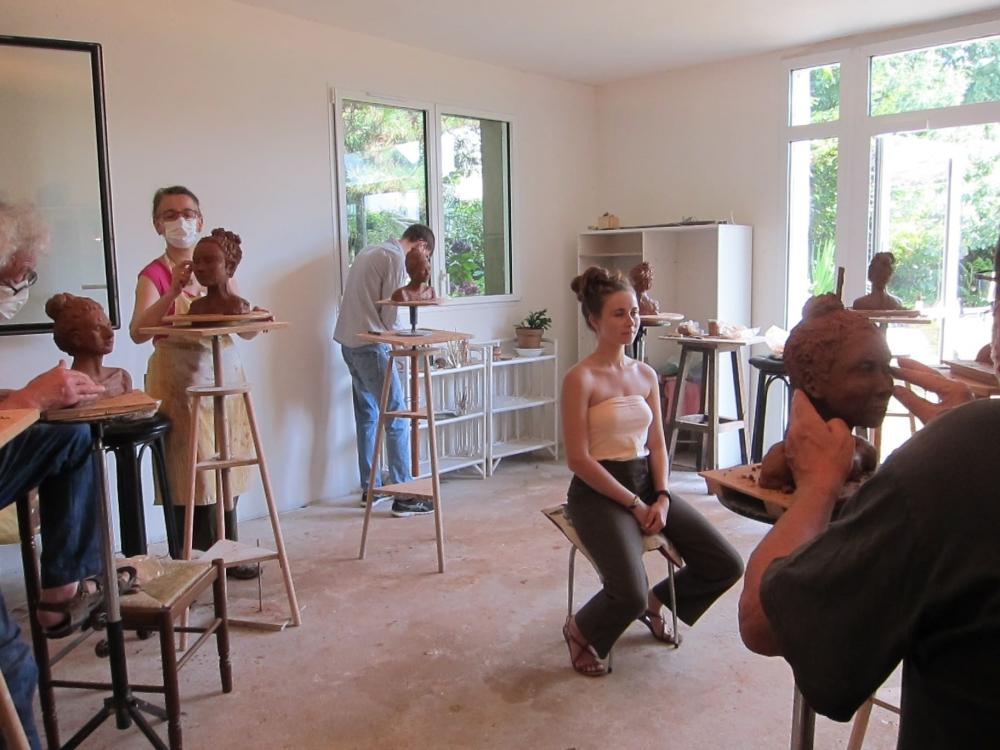 5 Jours De Stage De Modelage En Bretagne