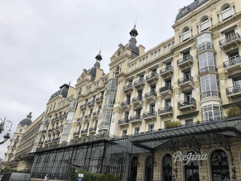 Balade dans le quartier de Cimiez à Nice