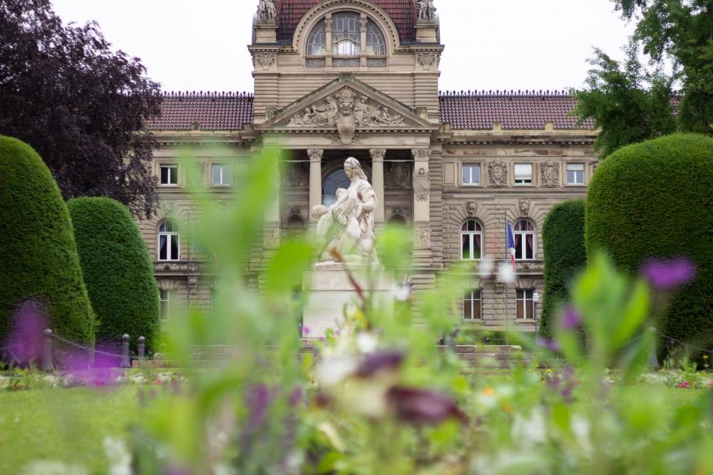 Strasbourg Photo Tours à Trois - la Neustadt