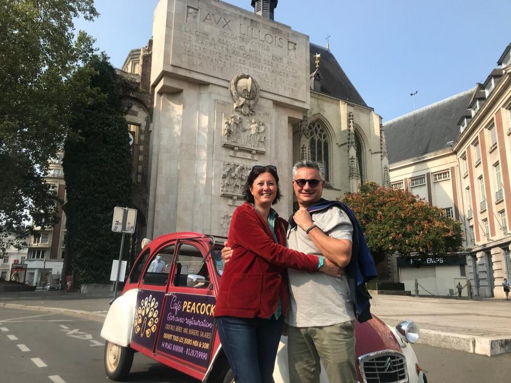 Visite de Lille en 2CV - 45 minutes
