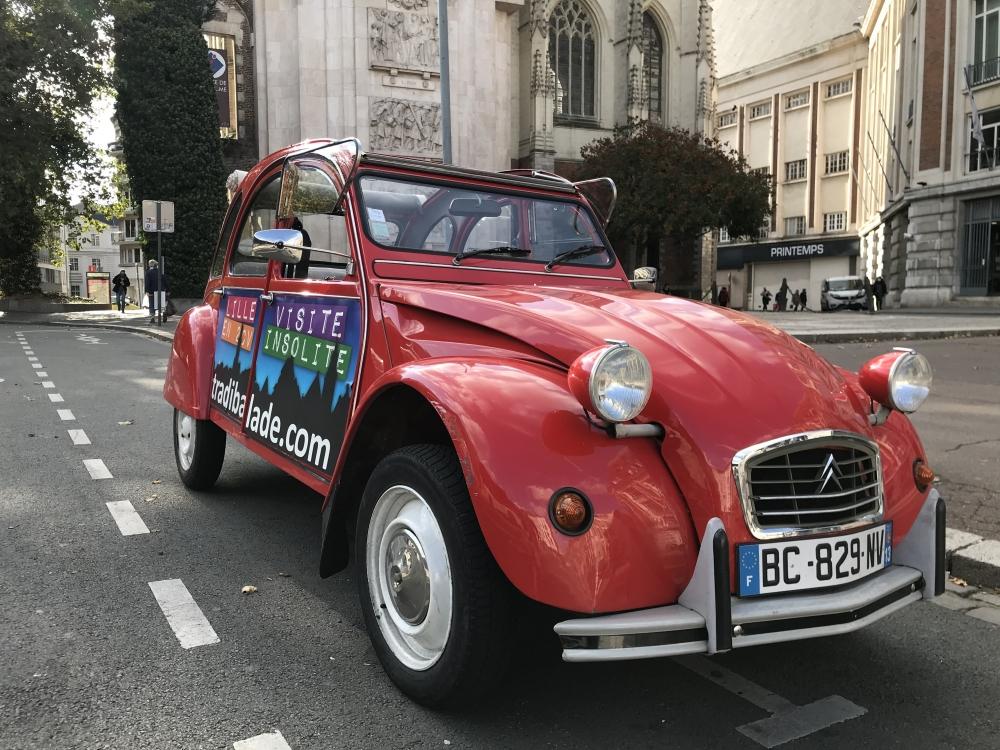 Visite de Lille en 2CV - 1 heure