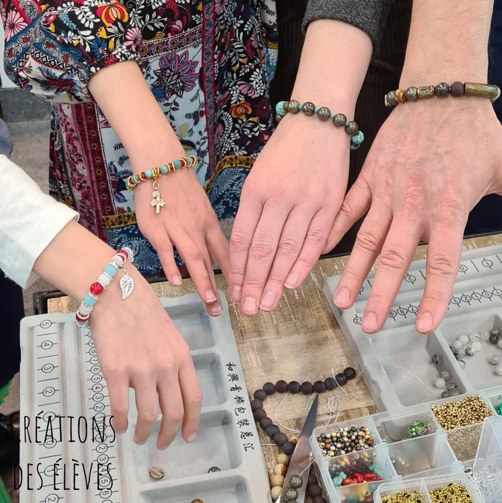 Créez votre bracelet personnalisé à Paris