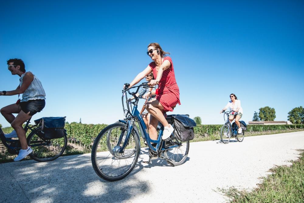 Balade à vélo électrique à Saint-Emilion - Demi-journée Matin ou après-midi