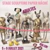Stage sculpture papier mâché - Paris 11ème