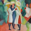 Inspirations fauves : August Macke