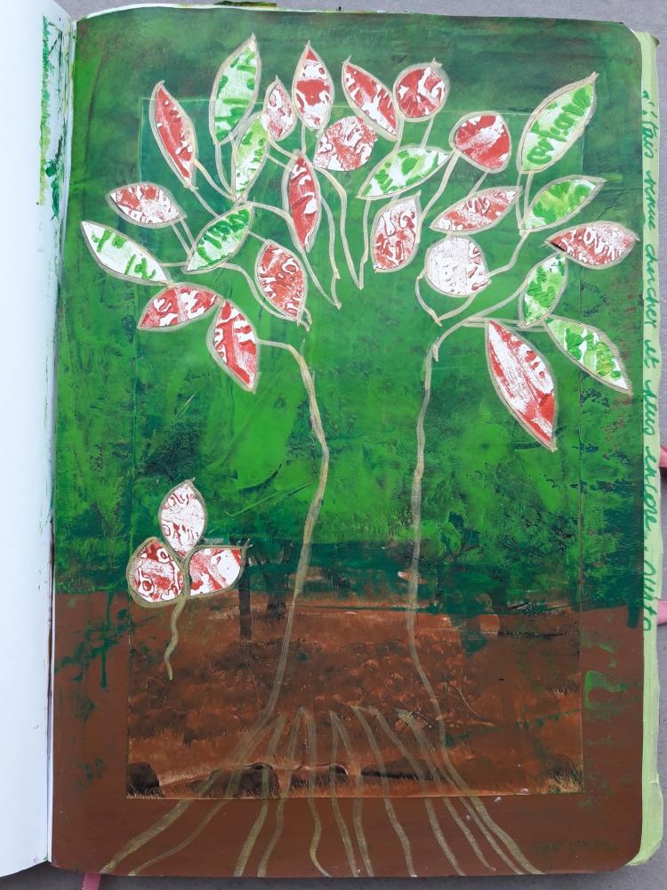 """Se Ressourcer Avec La Nature Dans Son Journal Créatif\"""""""